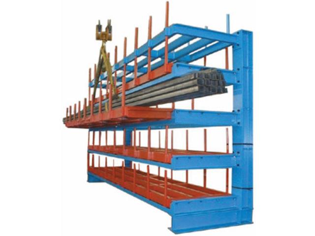 rack de stockage de barres et tubes