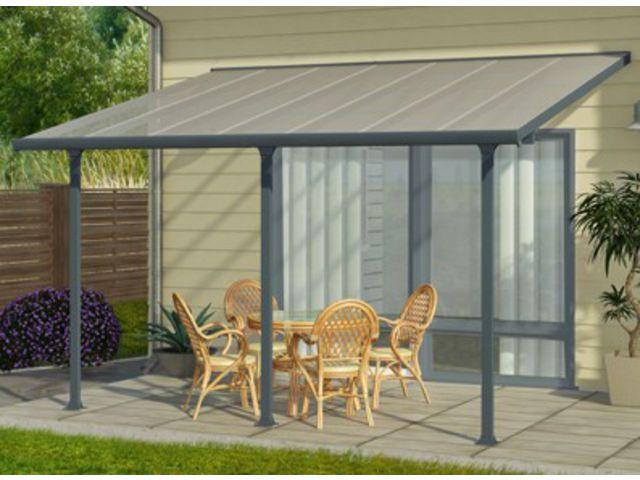 toit terrasse aluminium 8 x 3 m id1783