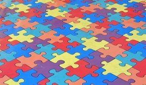 Tapis puzzle jouet