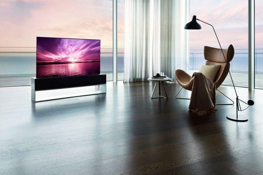 lg commercialise le premier televiseur