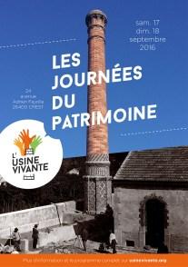septembre 2016 - Journées du Patrimoine