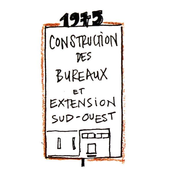 Construction des bureaux et extensions