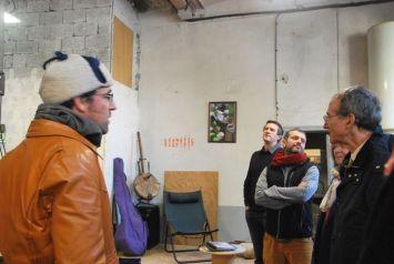 Visite de l'atelier de Julien, Enkore MGS