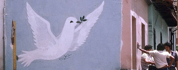 mural of dove