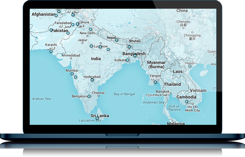 Access cutting-edge courses from anywhere in the world