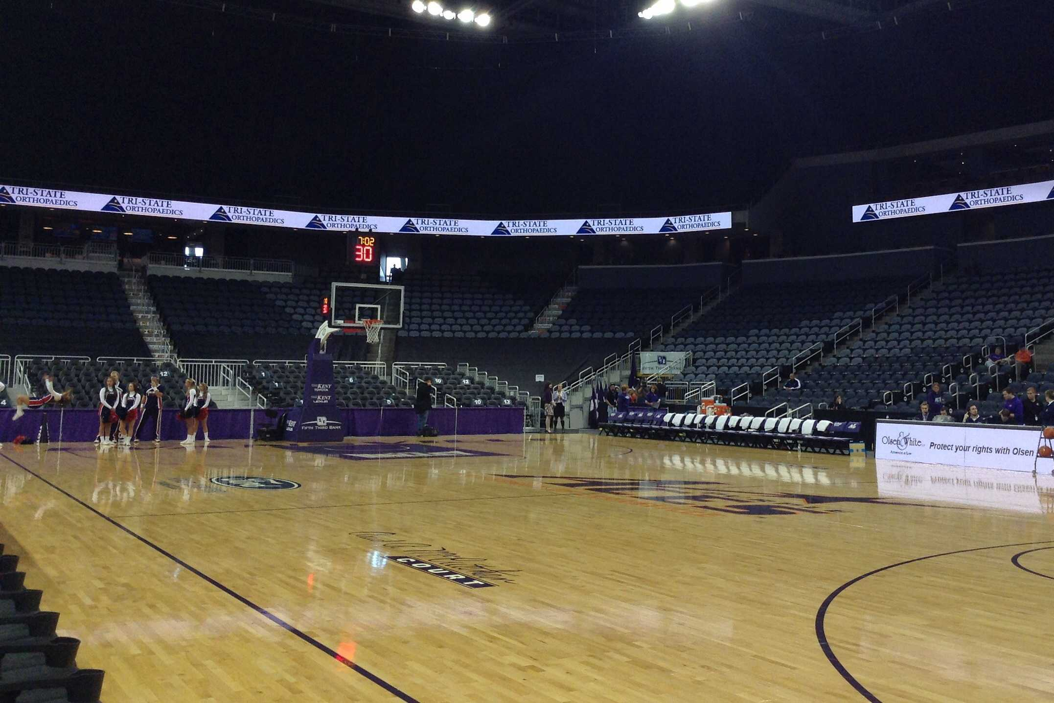 Ford Center will host the 2014 and 2015 NCAA Division II Elite Eight. FILE PHOTO/The Shield