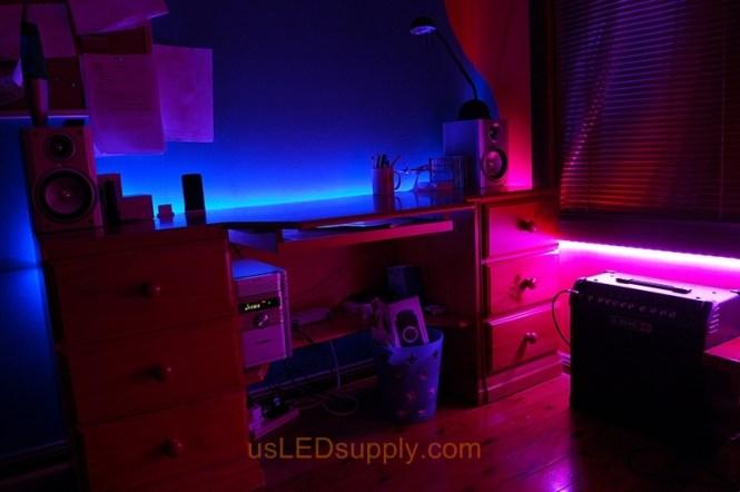 Bedroom Led Lights Photo 11 Aliexpress Laras Ac90 265v Strip Wall Ls