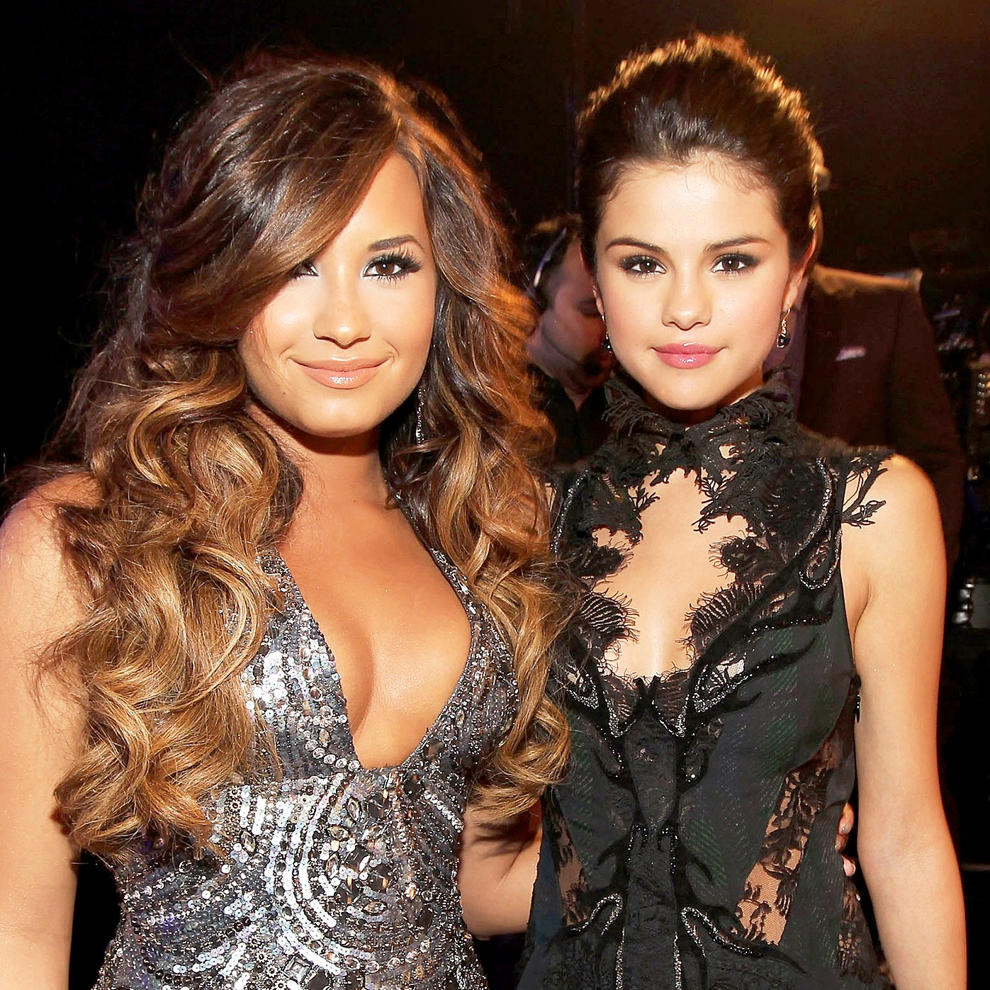 Demi Lovato and Selena Gomez