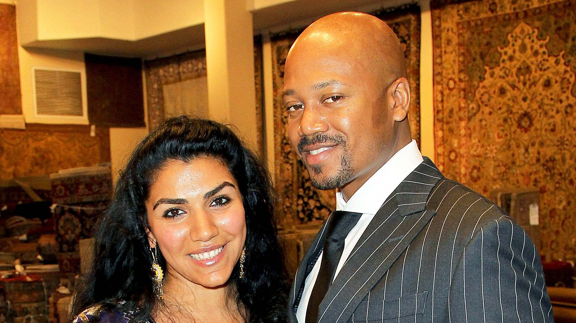 Asa Soltan Rahmati and Jermaine Jackson Jr.
