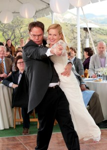 Rainn Wilson Angela Kinsey The Office