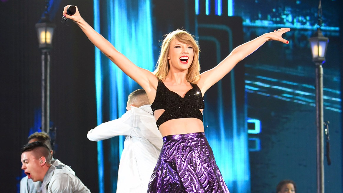 Taylor Swift performs during The 1989 World Tour at Tokyo Dome on May 5, 2015 in Tokyo, Japan.