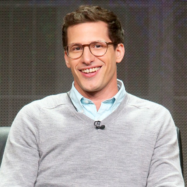 Andy Samberg speaks onstage during the Emmy Awards panel discussion at the FOX portion of the 2015 Summer TCA Tour at The Beverly Hilton Hotel on August 6, 2015 in Beverly Hills, California.