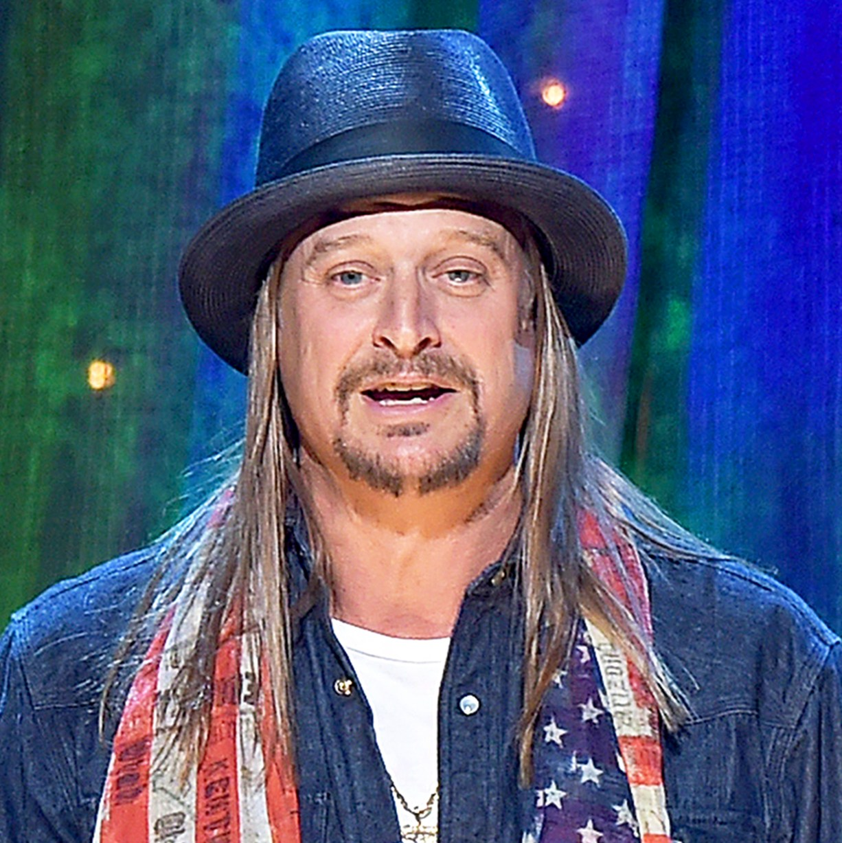 Kid Rock attend the 31st Annual Rock And Roll Hall Of Fame Induction Ceremony at Barclays Center on April 8, 2016 in New York City.