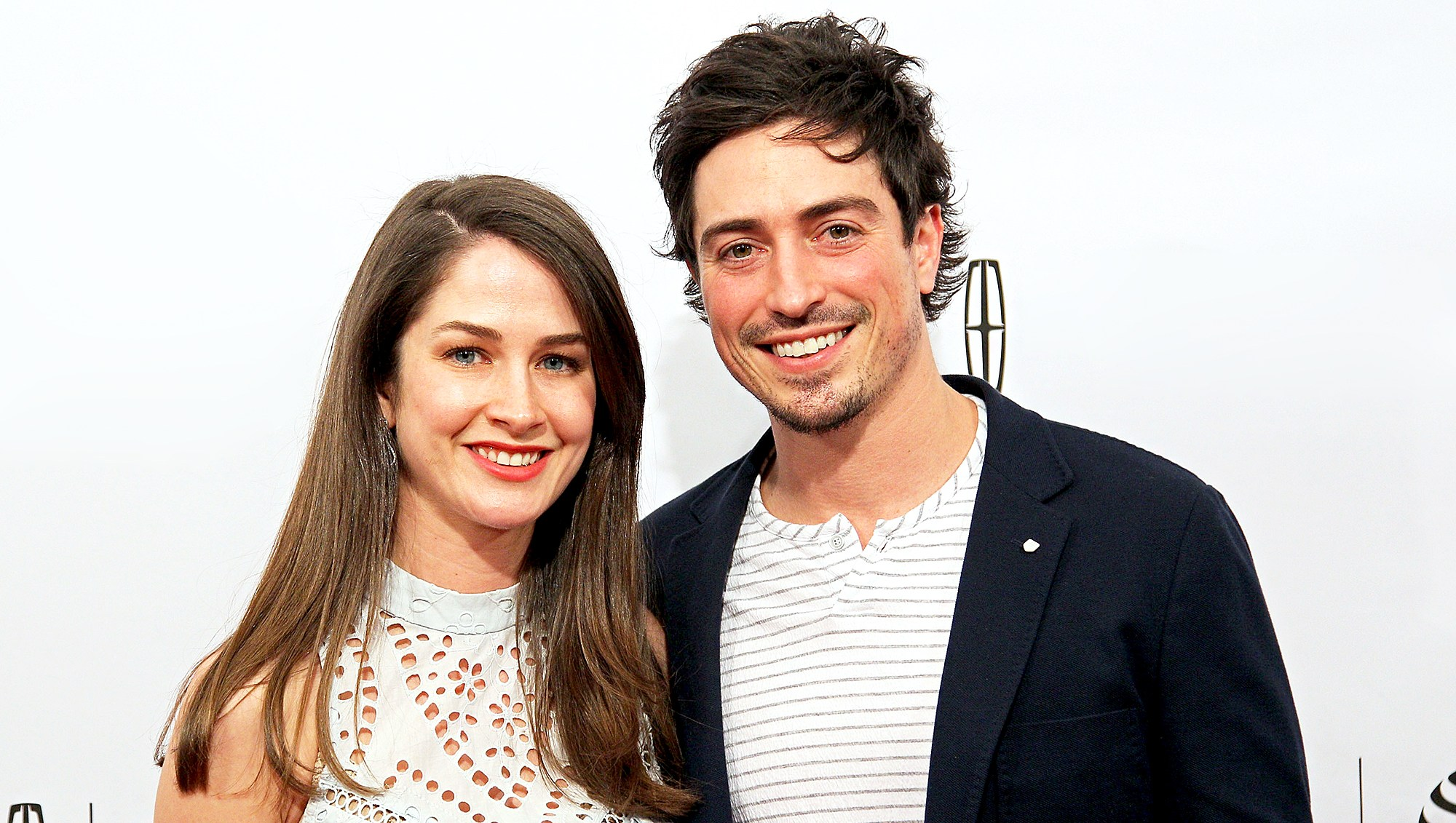 "Ben Feldman and Michelle Mulitz attend the ""Between Us"" Premiere at SVA Theatre 1 on April 18, 2016 in New York City."