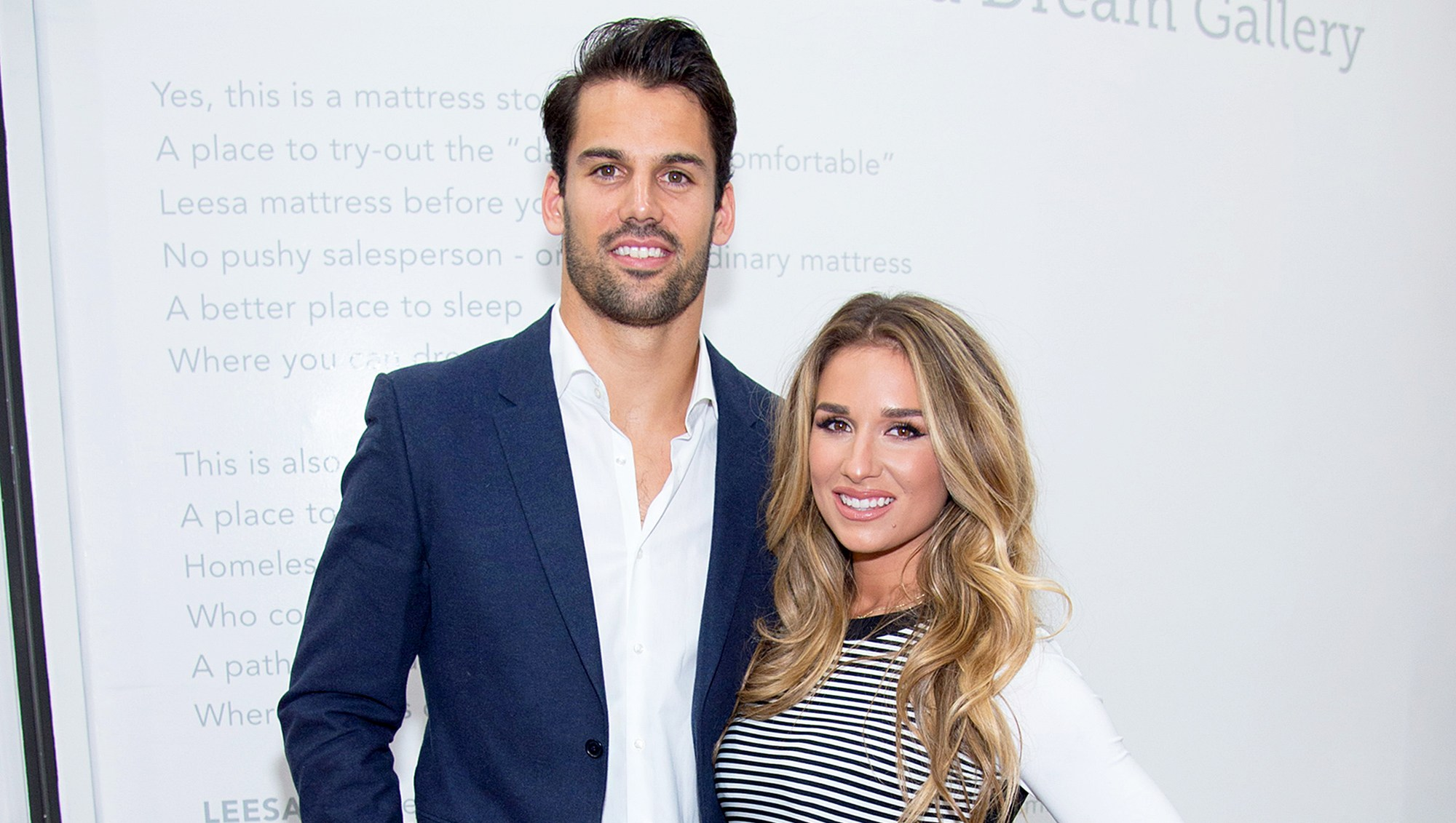 Eric Decker and Jessie James Decker attends The Leesa Dream Home on April 27, 2016 in New York City.