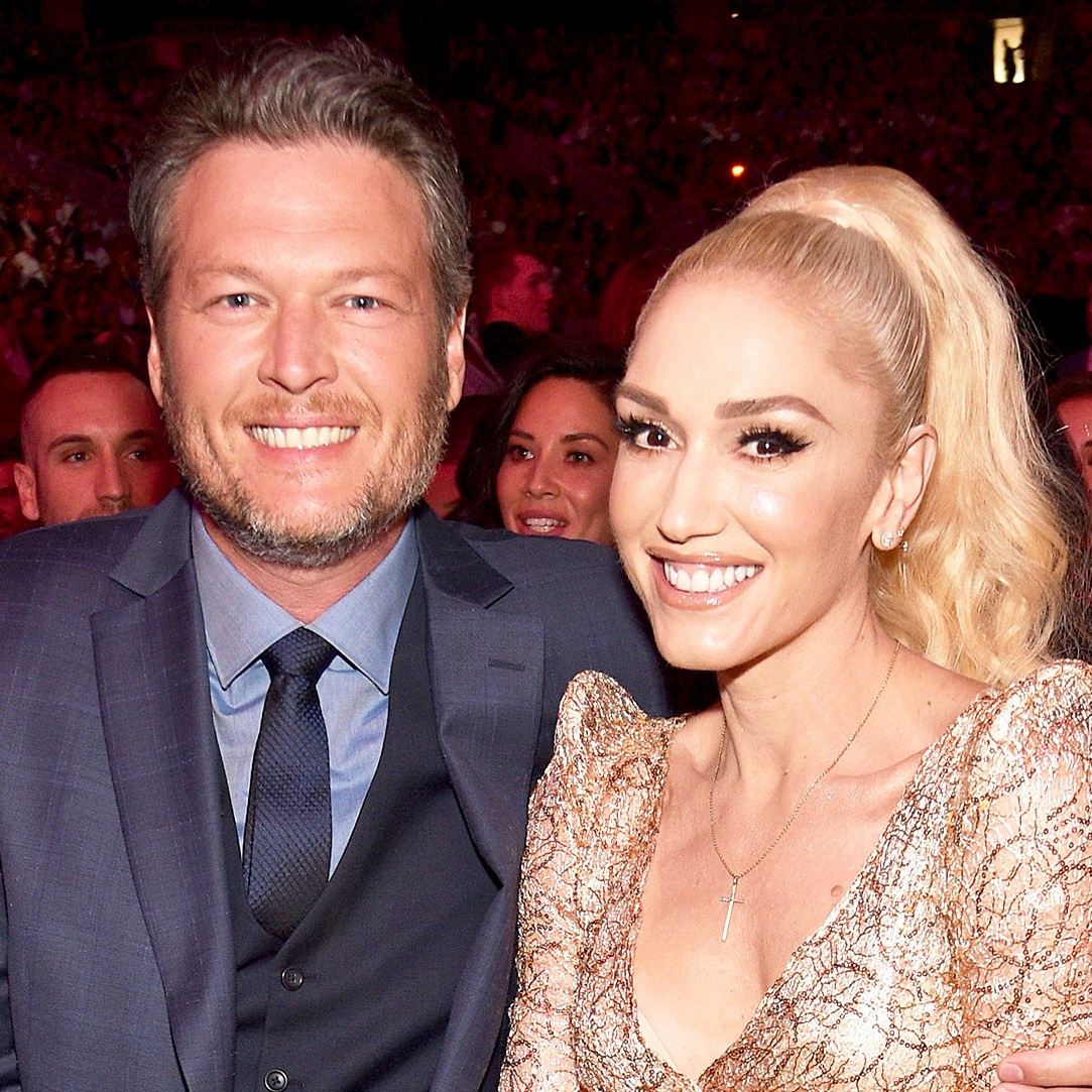 Blake Shelton and Gwen Stefani attend the 2017 Billboard Music Awards at T-Mobile Arena on May 21, 2017 in Las Vegas, Nevada.
