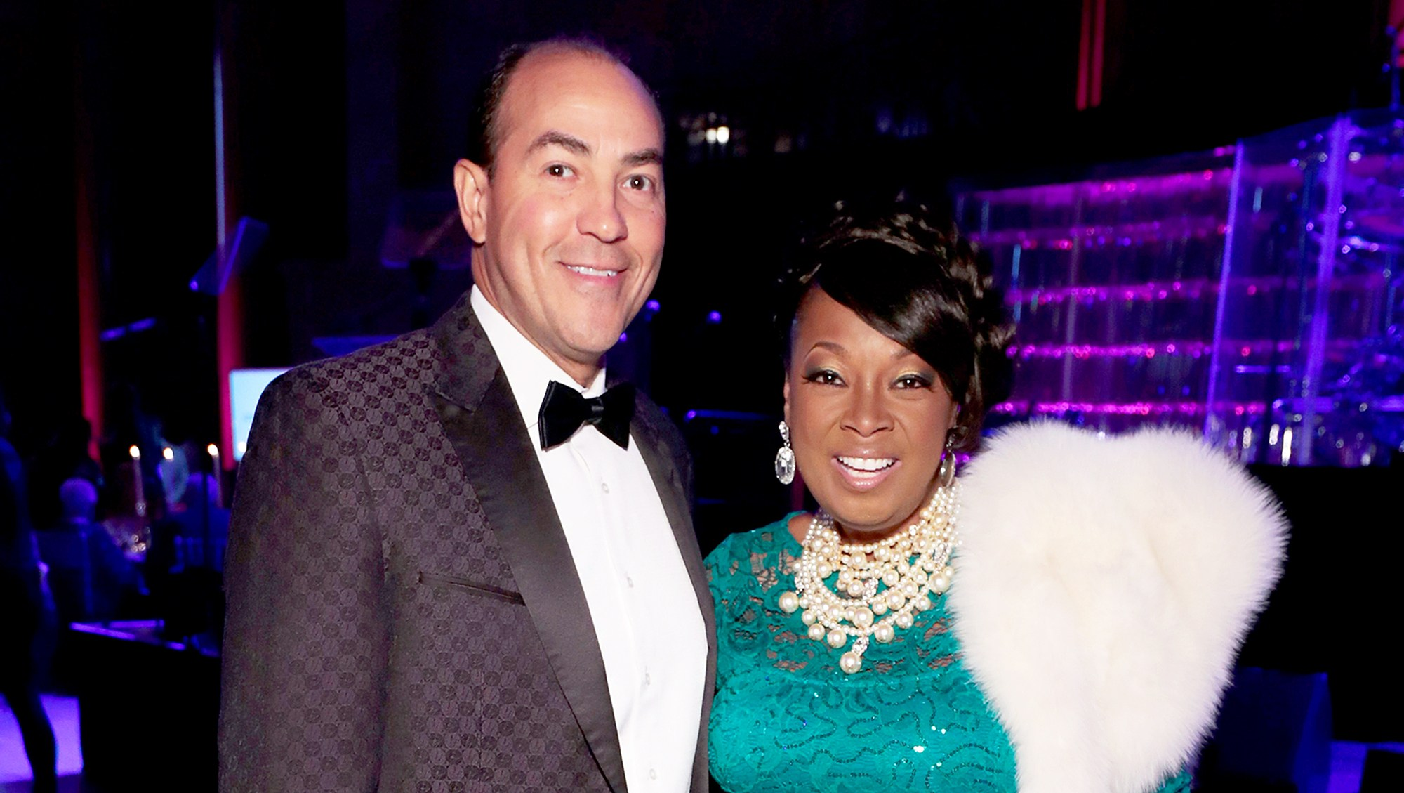 Ricardo Lugo and Star Jones attend Gabrielle's Angel Foundation's Angel Ball 2017 at Cipriani Wall Street on October 23, 2017 in New York City.