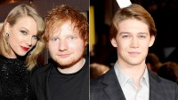Taylor Swift, Ed Sheeran, and Joe Alwyn
