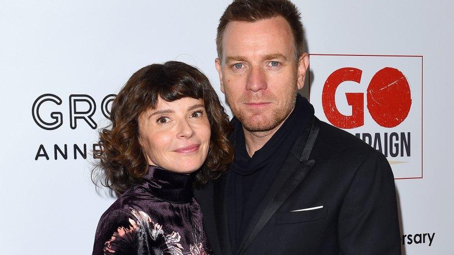 Actor Ewan McGregor and wife Eve Mavrakis