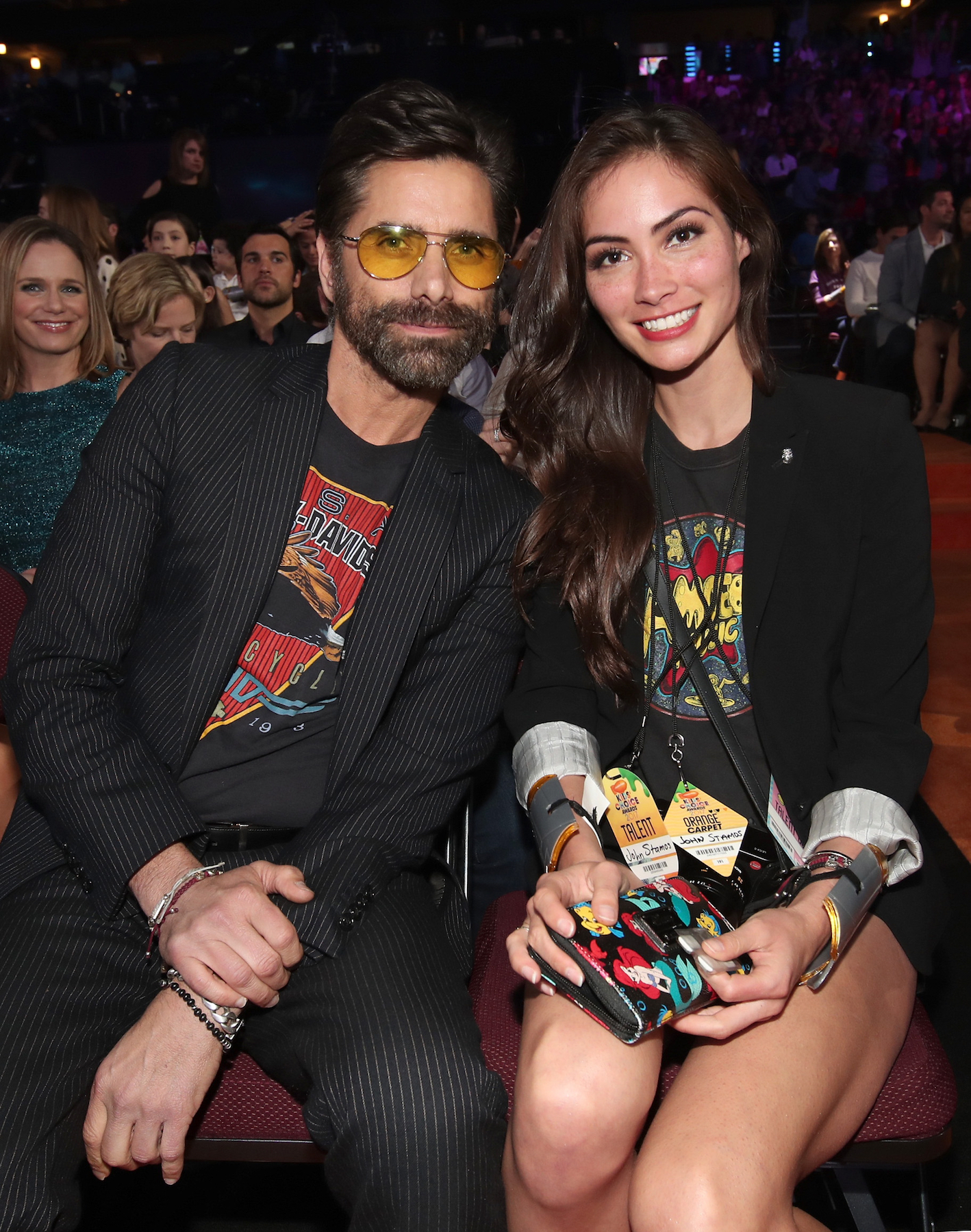 John Stamos gets engaged at Disneyland to longtime girlfriend Caitlyn McHugh