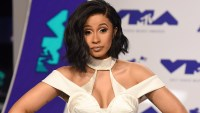 INGLEWOOD, CA - AUGUST 27: Cardi B arrives at the 2017 MTV Video Music Awards at The Forum on August 27, 2017 in Inglewood, California. (Photo by C Flanigan/Getty Images)