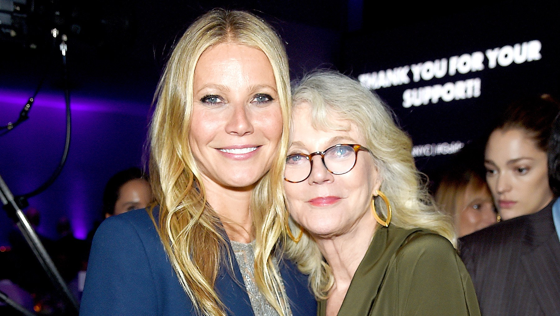Gwyneth Paltrow and Blythe Danner
