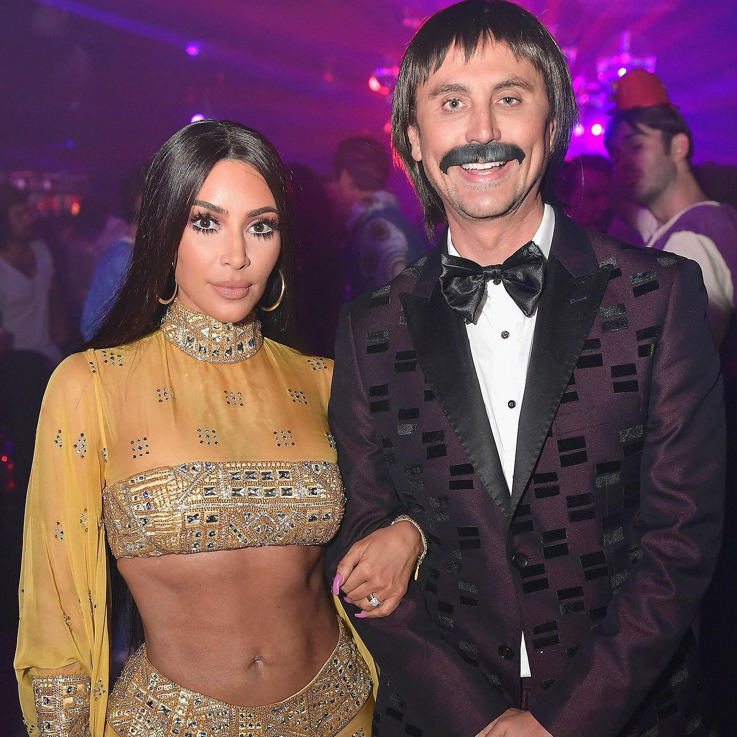 Kim Kardashian, Jonathan Cheban, Casamigos Halloween Party