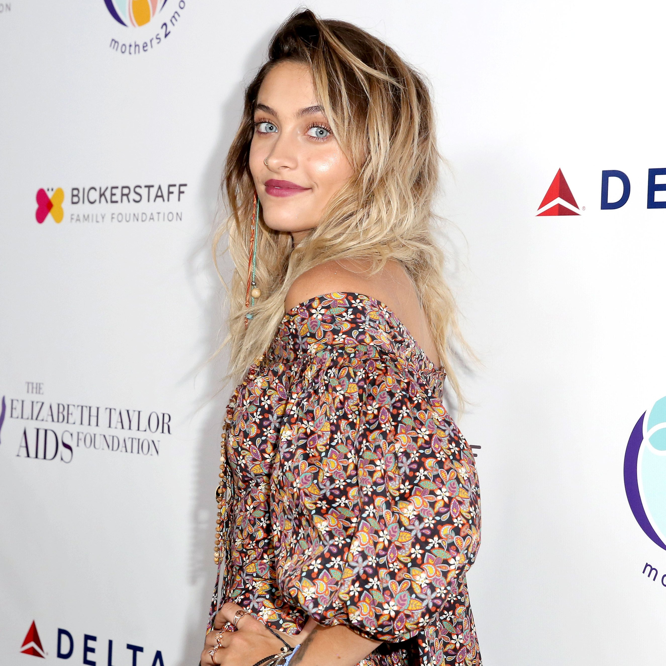 Paris Jackson attends The Elizabeth Taylor AIDS Foundation and mothers2mothers dinner