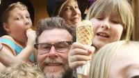 Tori Spelling Dean McDermott family Paris ice cream vacation