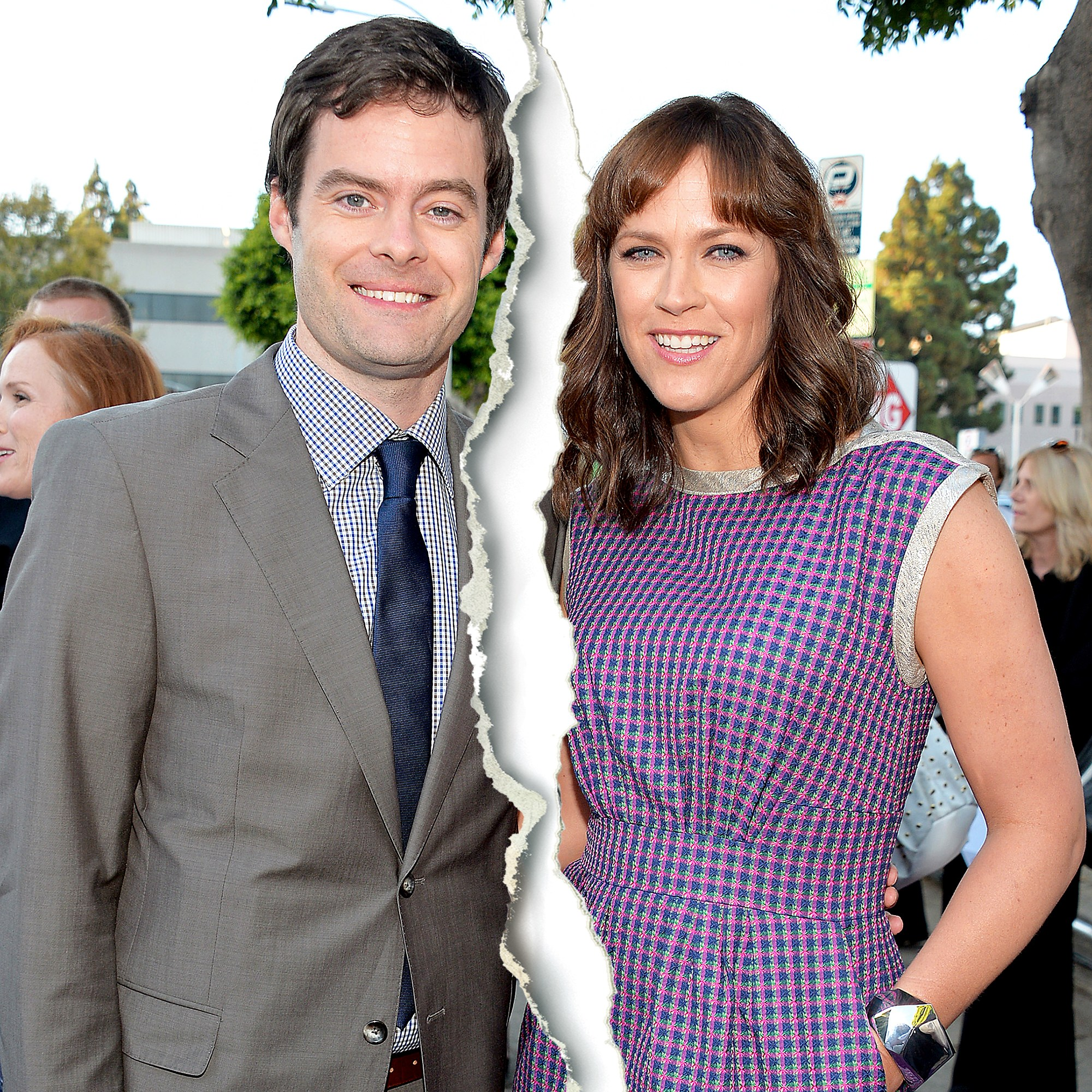 "Bill Hader and Maggie Carey attend the premiere of CBS Films' ""The To Do List"" on July 23, 2013 in Westwood, California."