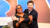 Oprah Winfrey and Harry Connick Jr. on Harry
