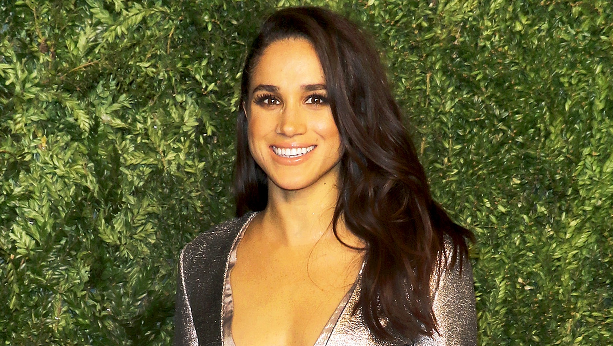 Meghan Markle attends the 12th annual CFDA/Vogue Fashion Fund Awards at Spring Studios in New York City.