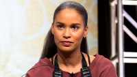 Joy Bryant attends the 2016 Amazon TCA Summer Press Tour in Beverly Hills, California.