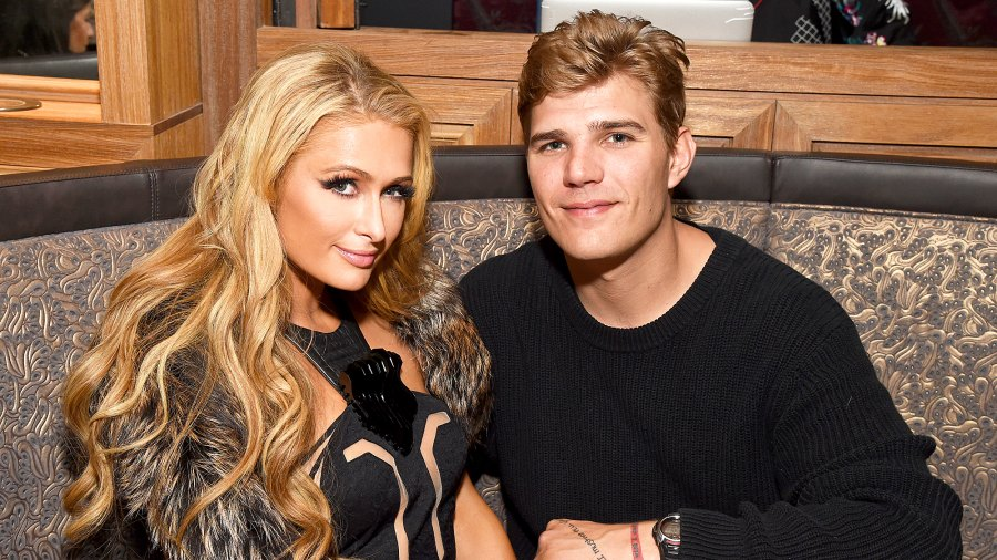 Paris Hilton and Chris Zylka attends day three of TAO, Beauty & Essex, Avenue and Luchini LA Grand Opening on March 18, 2017 in Los Angeles, California.