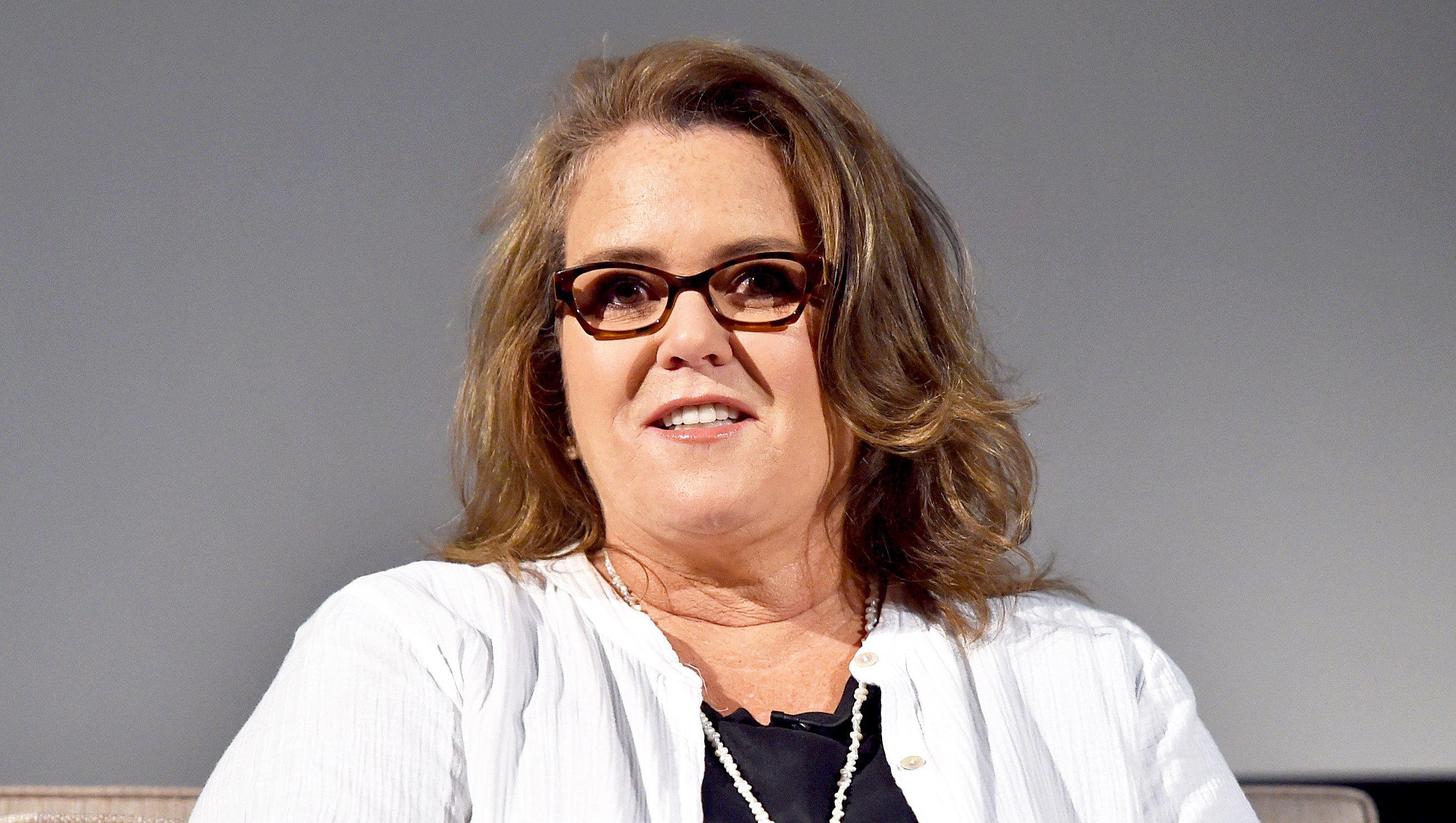 Rosie O'Donnell onstage at the Showtime portion of the 2017 Summer Television Critics Association Press Tour in Los Angeles, California.