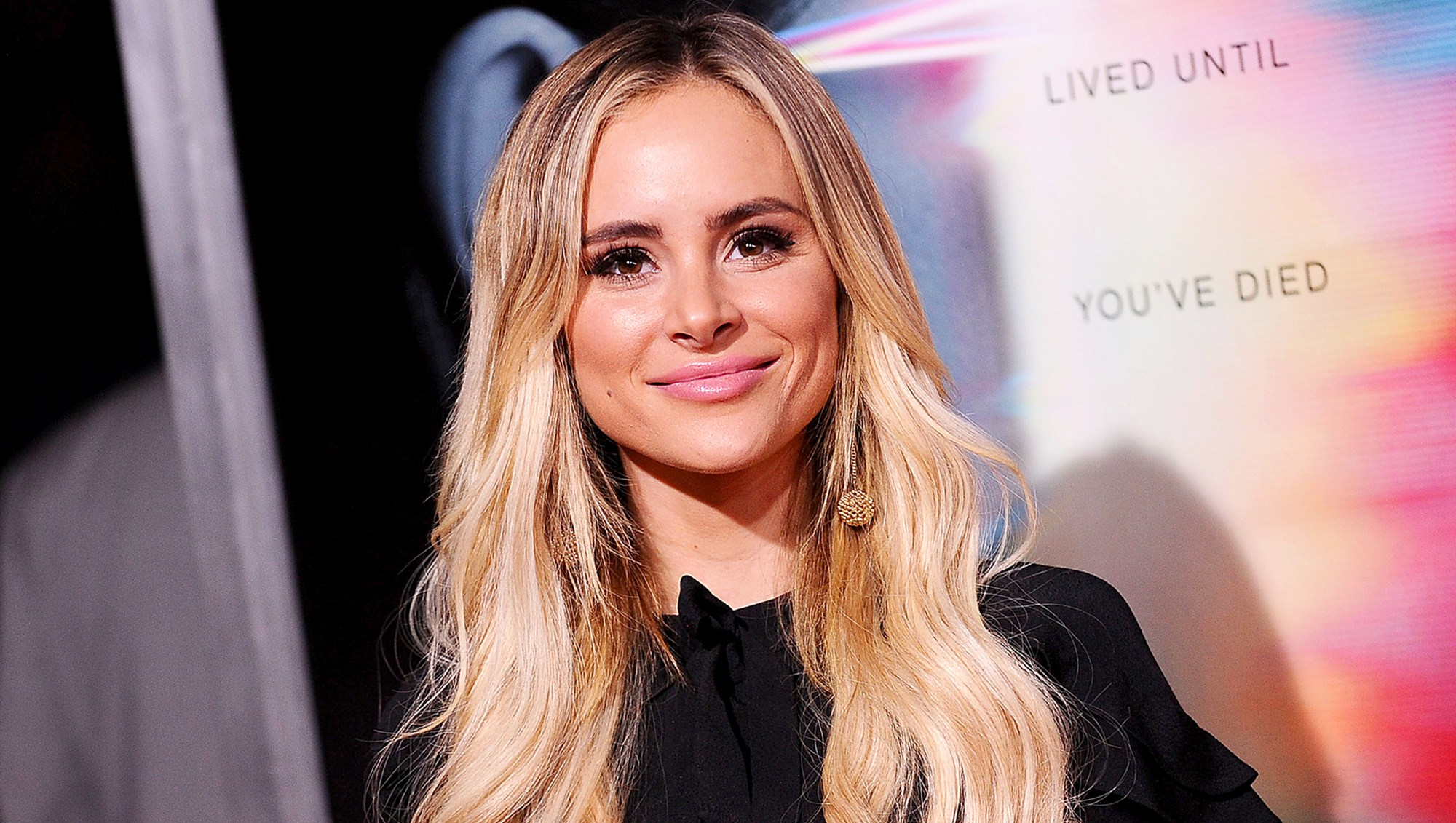 """Amanda Stanton attends the premiere of """"Flatliners"""" at The Theatre at Ace Hotel on September 27, 2017 in Los Angeles, California."""