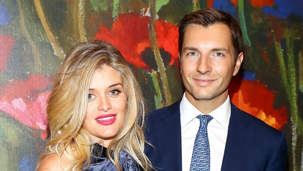 Daphne Oz and John Jovanovic attend 2017 'Take Home A Nude' art party and auction at Sotheby's in New York City.
