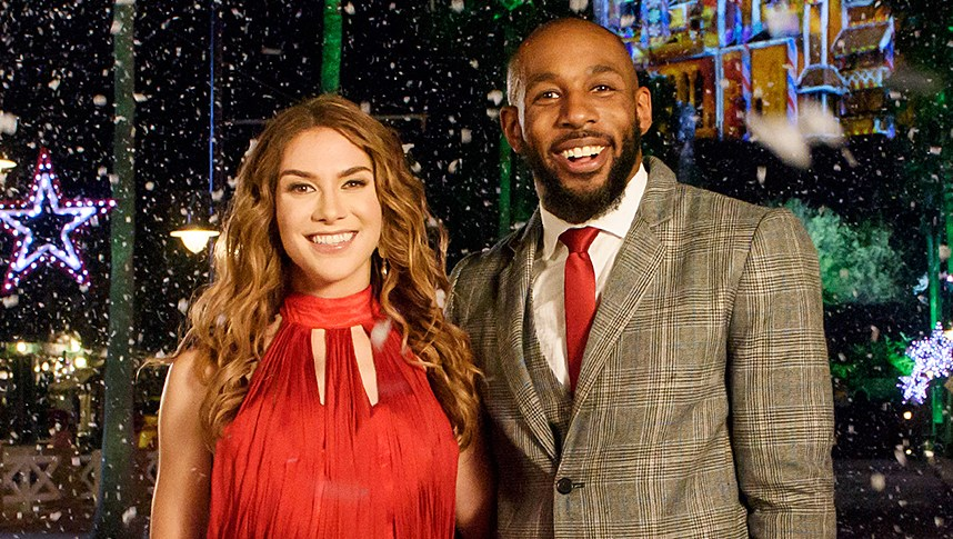 Allison Holker Stephen 'Twitch' Boss Disney Fairytale Wedding Special