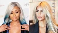 Blac Chyna Kim Kardashian