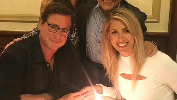 Bob Saget Kelly Rizzo engaged
