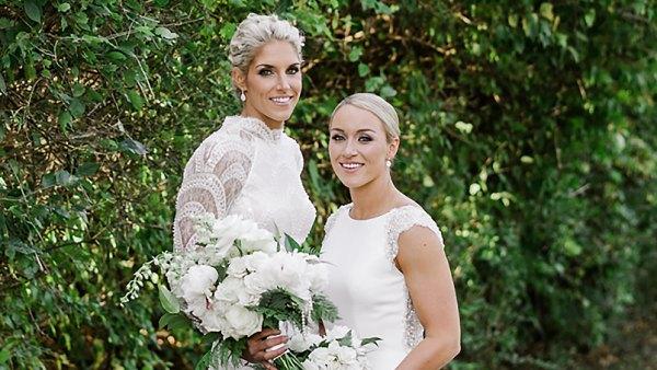 Elena Delle Donne Amanda Clifton wedding