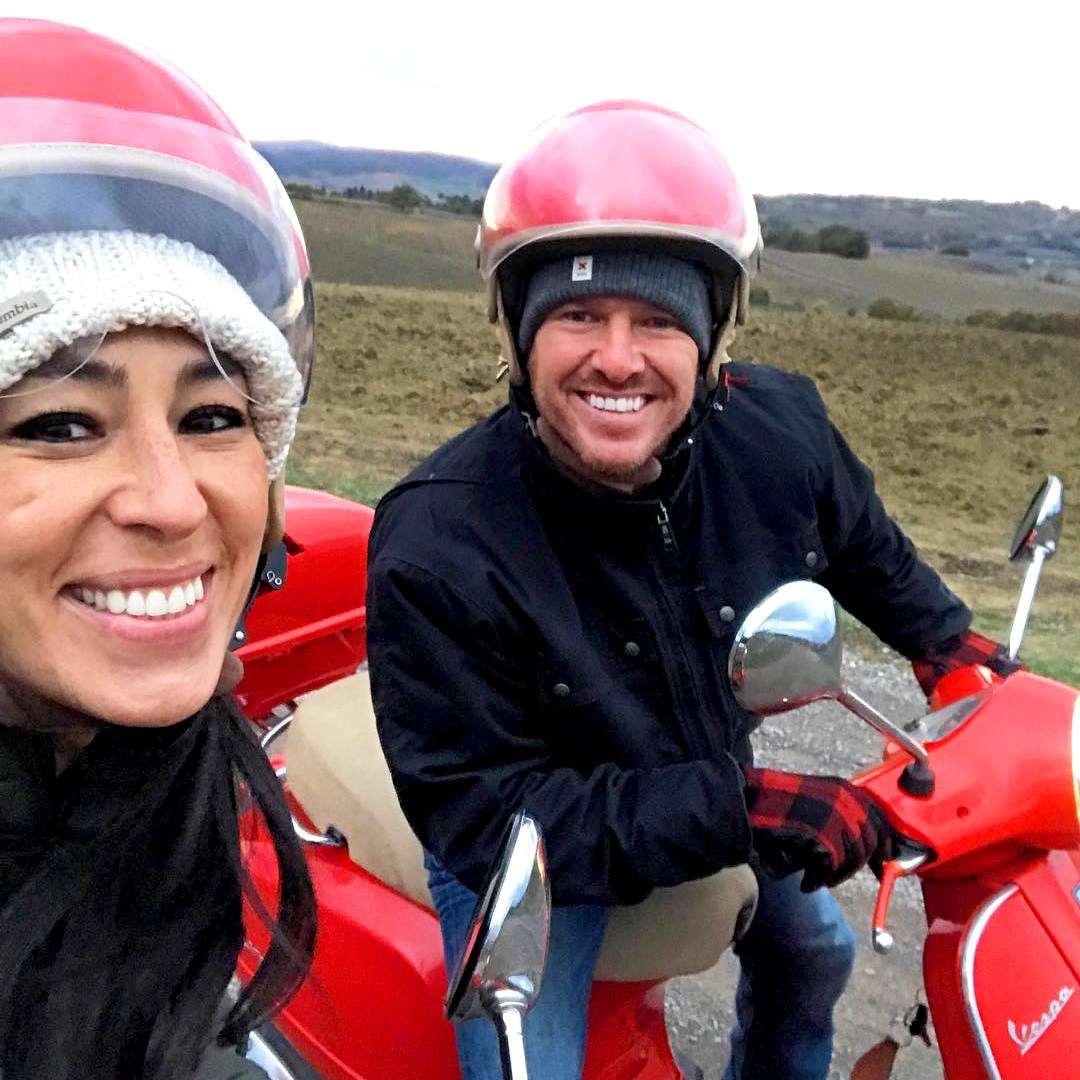 Joanna Gaines and Chip Gaines Italy