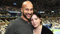 Keegan-Michael Key and Elisa Pugliese , engaged