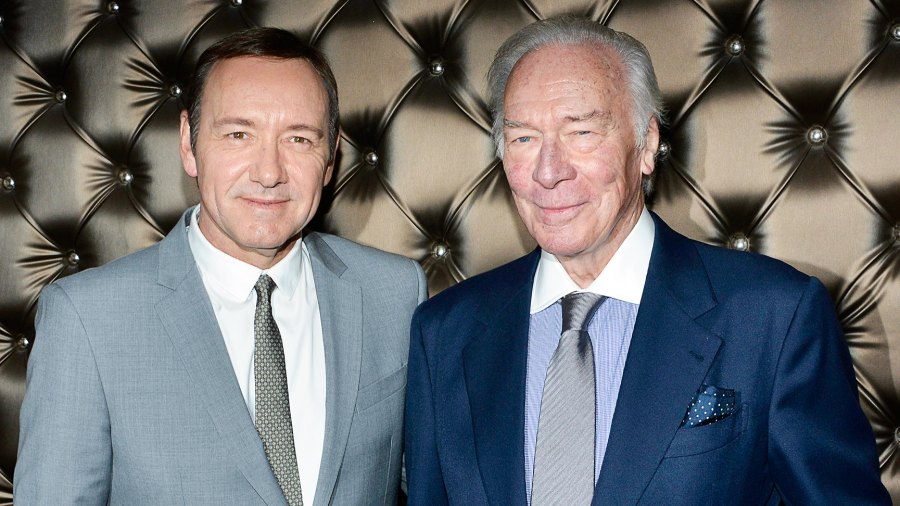 Christopher Plummer replaced Kevin Spacey All the Money in the World