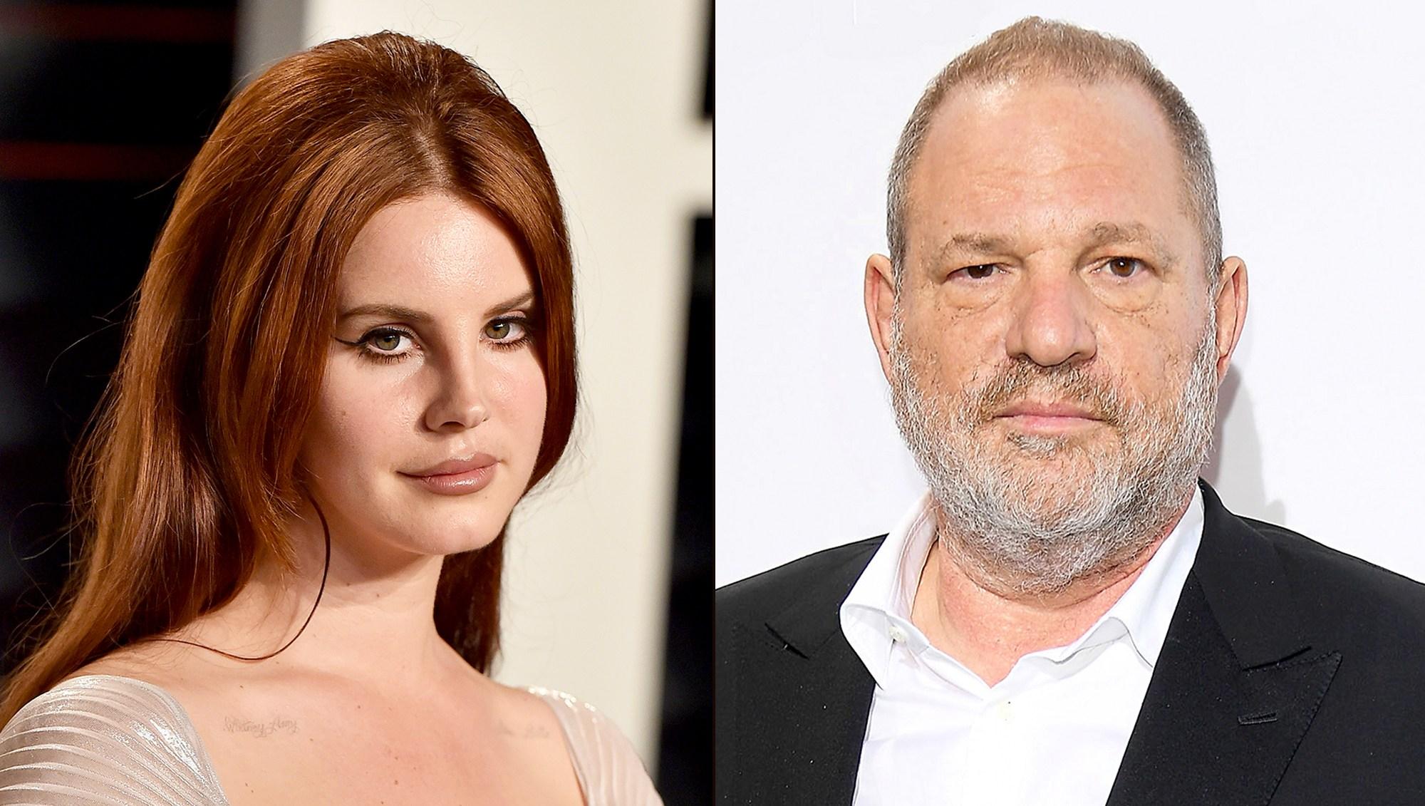 Lana Del Rey and Harvey Weinstein