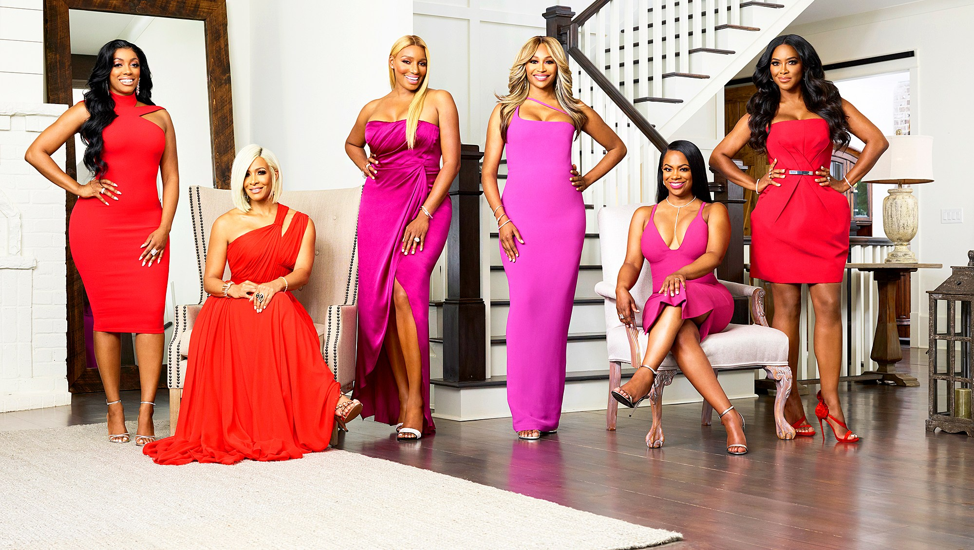 'Real Housewives of Atlanta' stars Porsha Williams, Sheree Whitfield, NeNe Leakes, Cynthia Bailey, Kandi Burruss and Kenya Moore