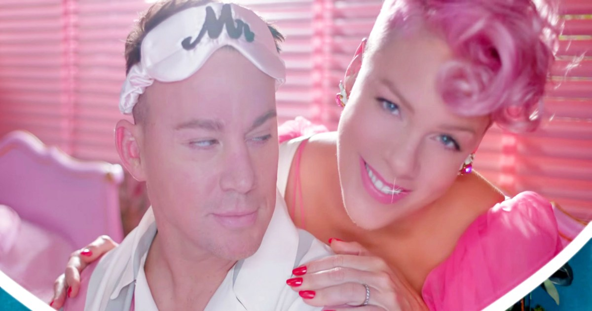 Pink Dances With Chann... Channing Tatum Divorce