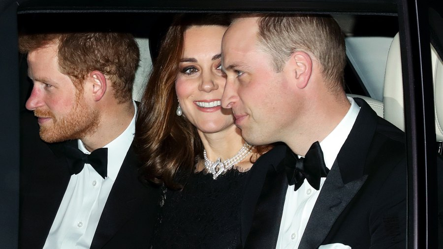 Prince Harry Kate Middleton Prince William wedding anniversary dinner
