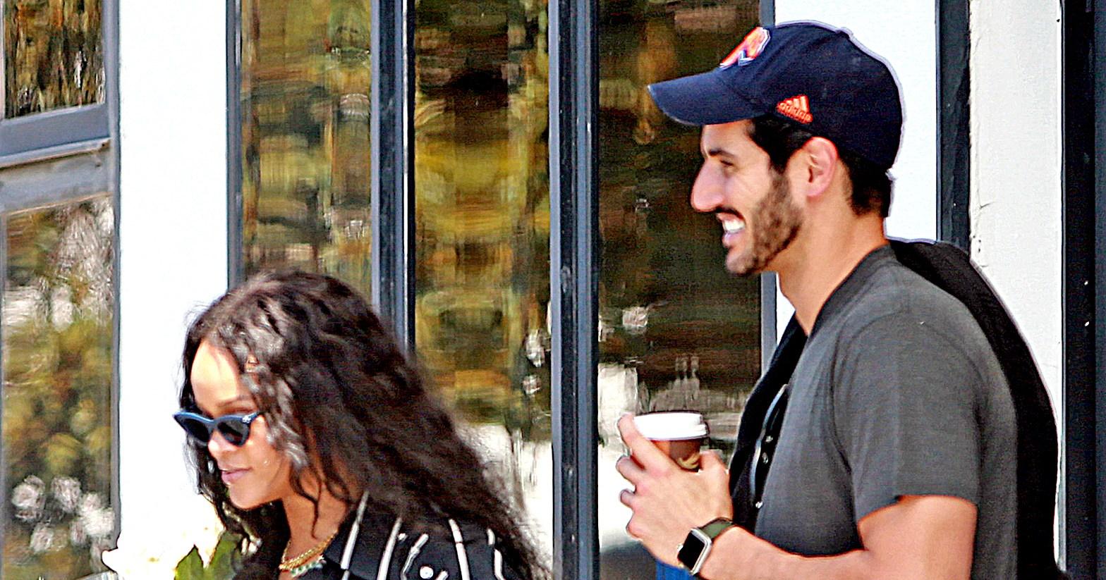 Rihanna Hassan Jameel Enjoy Date Night In Boston Details