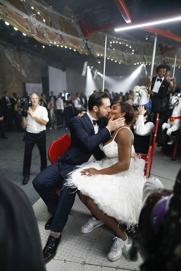 Image result for photos from serena williams wedding